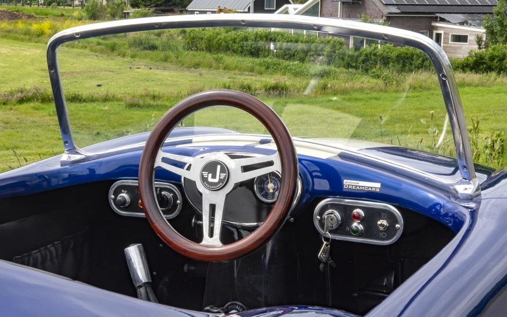 Cobra 1 donker blauw